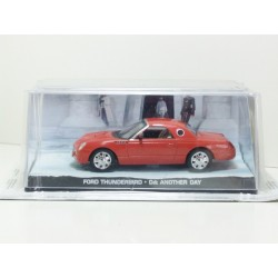 James Bond Car Collection 27 Ford Thunderbird - Die Another Day & Magazine