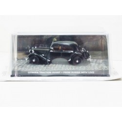 James Bond Car Collection 40 Citroen Traction Avant - From Russia with Love & Magazine