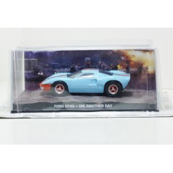 James Bond Car Collection 52 Ford GT40 - Die Another Day & Magazine