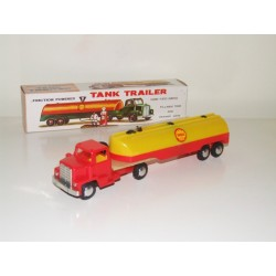 JIMSON (Hong Kong) 126 Friction Powered Tank Trailer SHELL