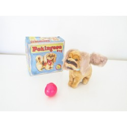 ALPS Pekingese Dog Clockwork Toy