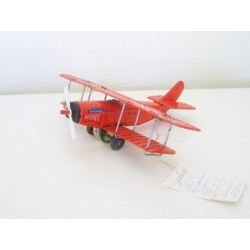 Japan Sample Tinplate Curtiss JN-4 Jenny Biplane (Suzuki / SSS)