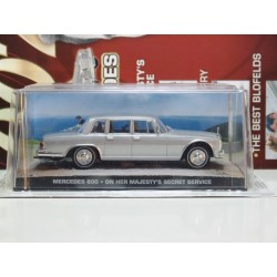 James Bond Car Collection 32 Mercedes 600 On Her Majestys Secret Service & Magazine
