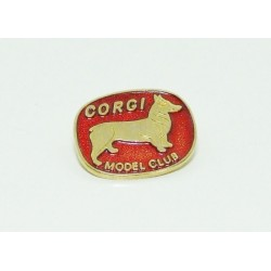 Corgi Model Club Badge Later Issue