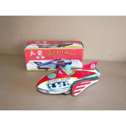 MF 735 Rocket Racer Tinplate Spaceship