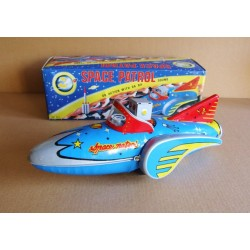 MF 742 Space Patrol - Large Tinplate Spaceship