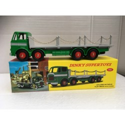Atlas Dinky Toys DINKY SUPERTOYS 935 Leyland Octopus Flat Truck With Chains