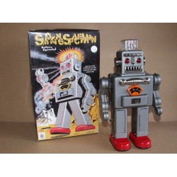 Smoking Spaceman Robot - HA HA Toy TR2011