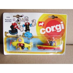 Corgi Juniors 2508 Popeye & Olive Oyl Twin Pack
