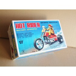 Yonezawa 943 Hot Rider Sports Tricycle - Battery Operated - Made in Japan