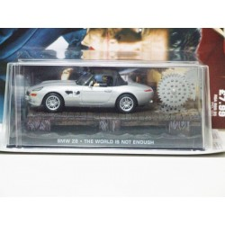 James Bond Car Collection 4 BMW Z8 The World is not Enough & Magazine