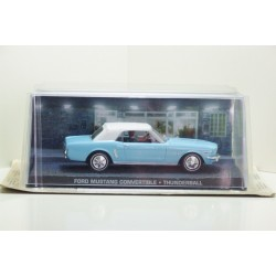 James Bond Car Collection 30 Ford Mustang Covertible THUNDERBALL