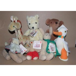 Jane Hissey Old Bear Complete Teddy Bear Collection