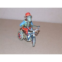 ARNOLD Bobby the Monkey on Tricycle