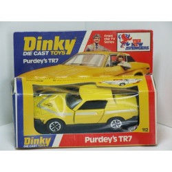 Dinky 112 Purdey's TR7