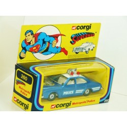 Corgi 260 Metropolis Police Car SUPERMAN