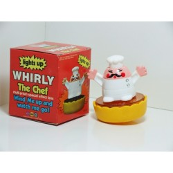 MARX 6330 WHIRLY The Chef Light Up Spinning Top