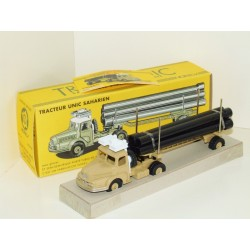 CIJ Norev 8/04/00 Tracteur UNIC Saharien Porte Pipe Lorry - French Dinky 893 Copy