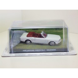 James Bond Car Collection 35 Ford Mustang Convertible - Goldfinger - Sealed & Magazine