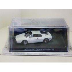 James Bond Car Collection 3 lotus Esprit - The Spy Who Loved Me - Sealed & Magazine