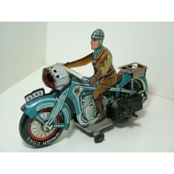 Arnold (Germany) A 643 Clockwork Tinplate Motorcycle