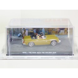 James Bond Car Collection 19 MGB - The Man with the Golden Gun - Sealed & Magazine