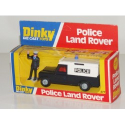 Dinky 277 Police Land Rover